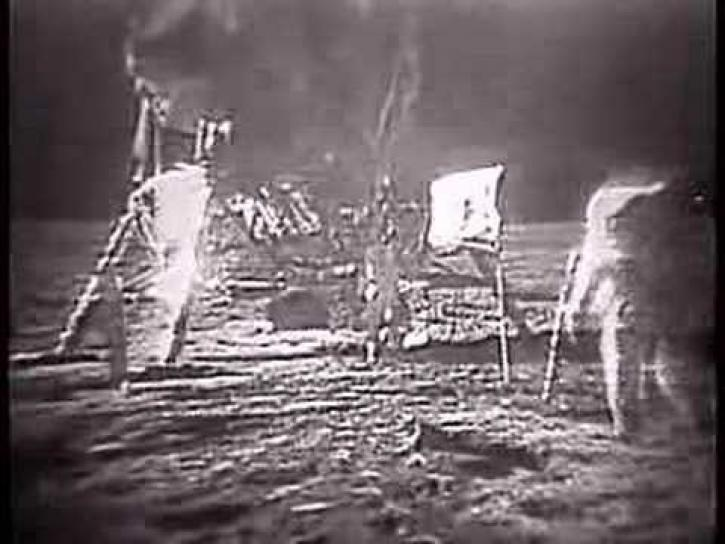 Magnificent Desolation   Moon Landing Pictures 1969
