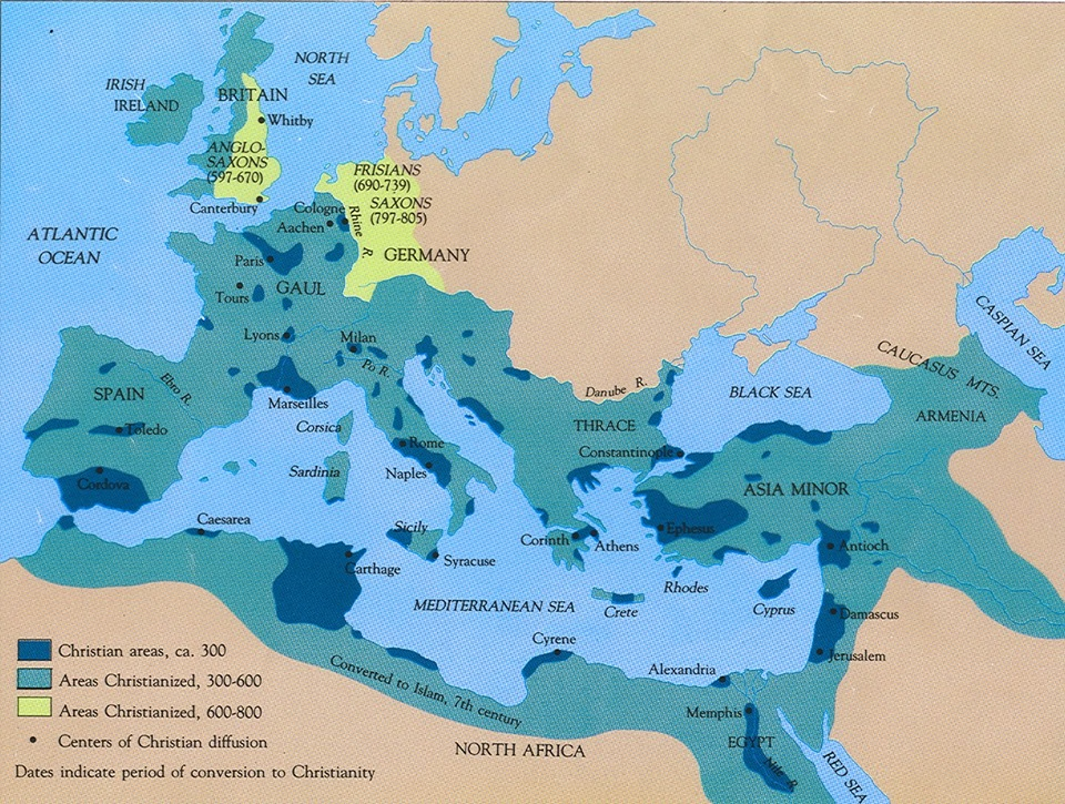 a report on the spread of christianity in the germanic lands Such as germanic paganism and slavic paganism christianity rapidly spread into the greater roman empire and stated that to get rid of the report.