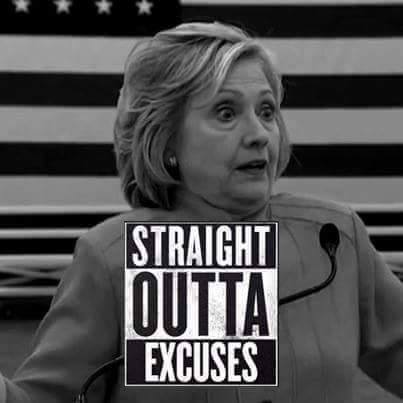 hillary excuses