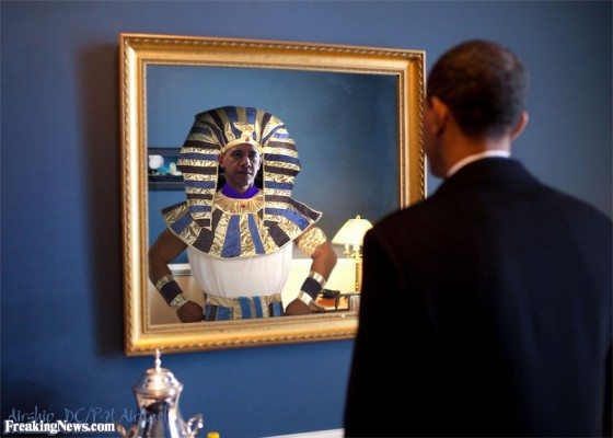 Obama pharaoh