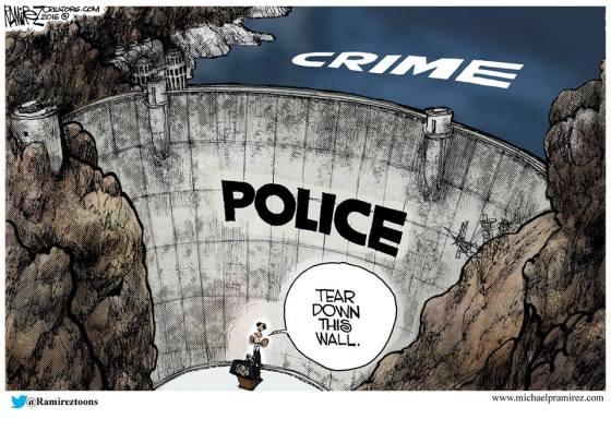 police wall