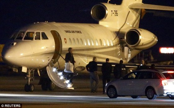 ransom plane