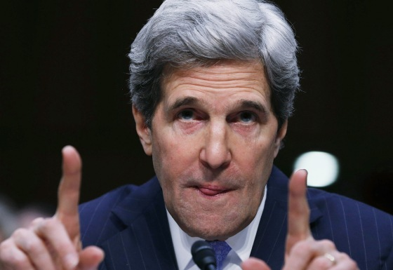 Sen. John Kerry Testifies