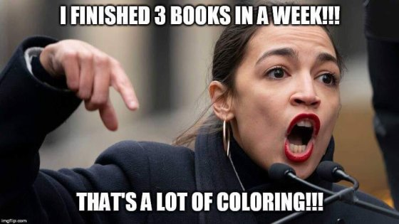 Looks Like AOC is in Some H.O.T. Water… | The Universal Spectator